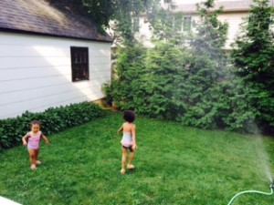 Sprinkler Time Fun!