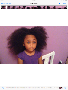Ella's Big Hair