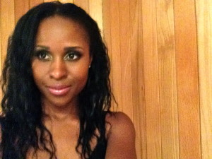 A selfie after a show in Spain.  I thought my make-up was good that night and I happen to look sorta serious.