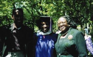 NYU Graduation Day 2001